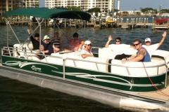 pontoon boat reservations