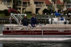 okaloosa island pontoon rentals