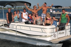 Pontoon boat rentals near me